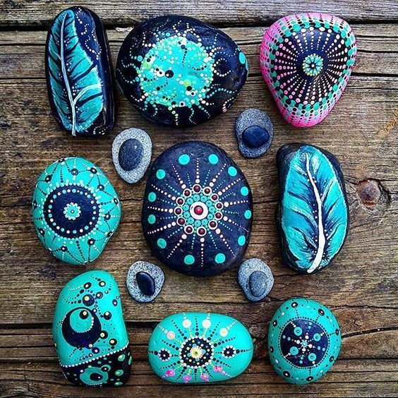 48 Simple and Cute DIY Rock Painting Ideas - #rockpainting