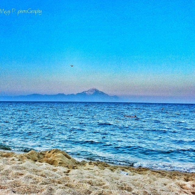 Sarti coast,Chalkidiki,Greece