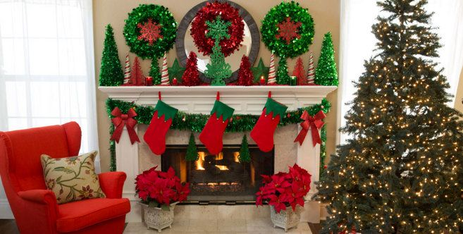 traditional christmas theme party classic christmas decorations party city