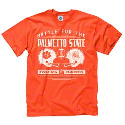 South Carolina Gamecocks vs Clemson Tigers Rivalry T-Shirt ...