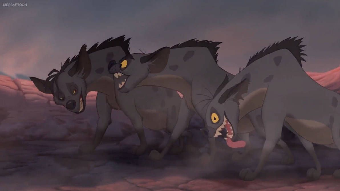 The Lion King Hyenas By Https Www Deviantart Com Giuseppedirosso On Deviantart The Lion King 1994 Hyena Lion King
