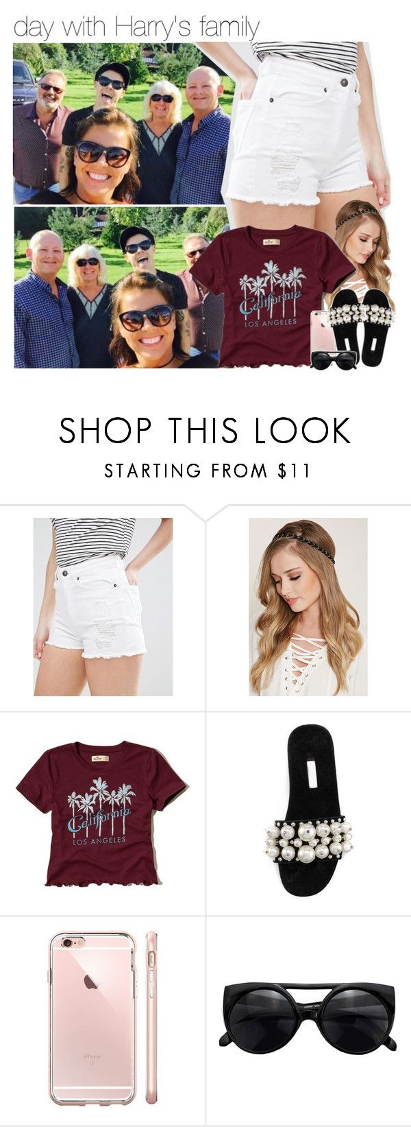 """day with Harry's family"" by dipx1d ❤ liked on Polyvore featuring Vero Moda, Forever 21, Hollister Co. and Miu Miu"