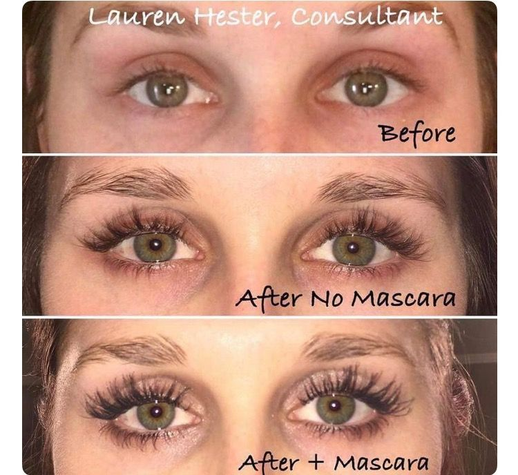 46f58ed5612 Wow! Look at consultant Lauren's results from Lash Boost!!