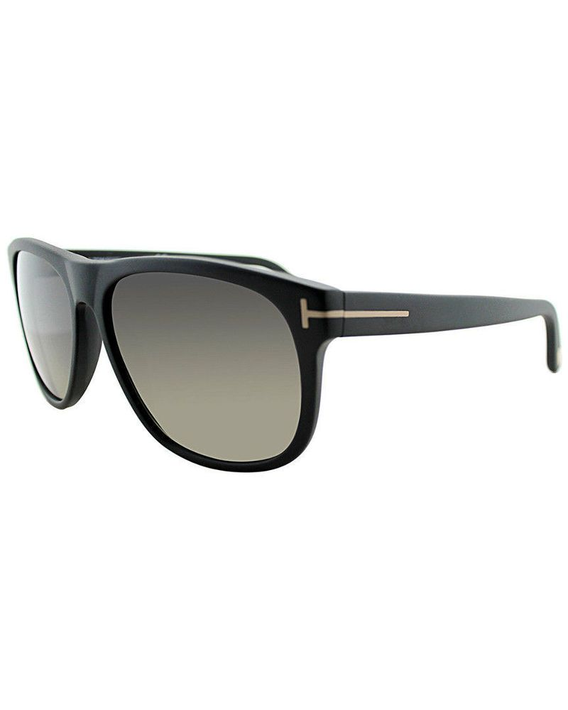 dc50c12cd3f40 Tom Ford TF0236 02D 52mm Men s Oliver Matte Black Plastic Sunglasses ...