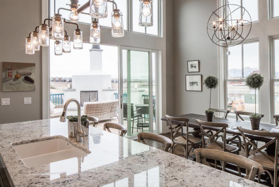 The Beauty Of White Ice Granite Granite Kitchens And Countertops - White ice granite kitchen bathroom countertops