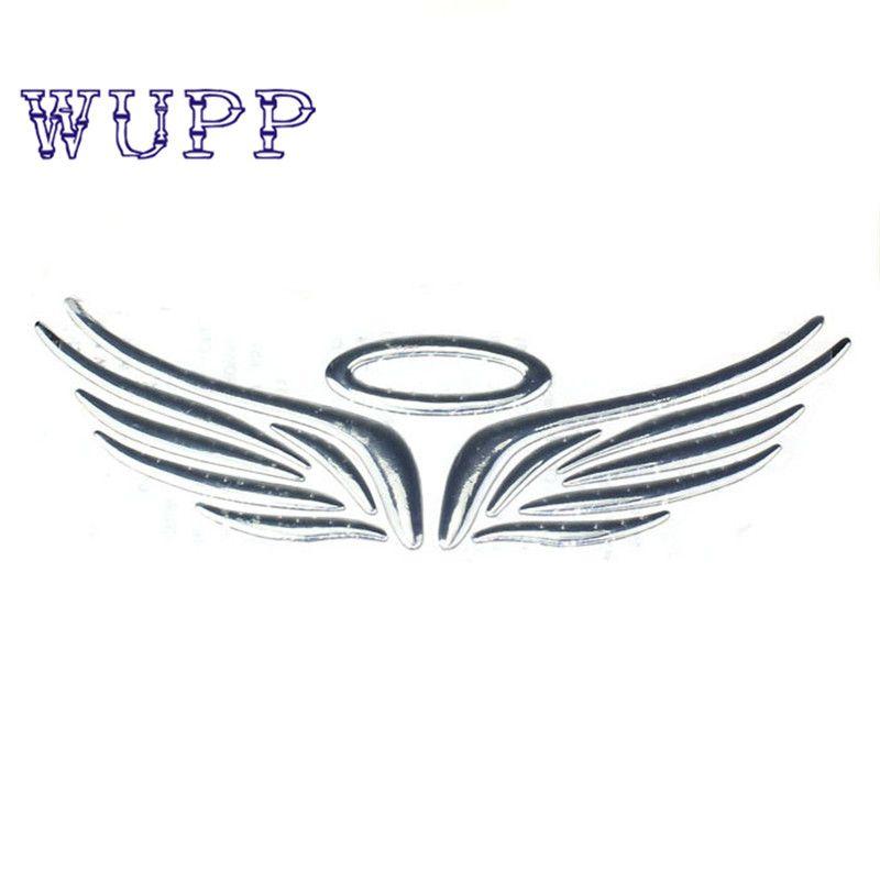 New 3d Stereoscopic Soft Plastic Wing Car Emblem Badge Decal Sticker