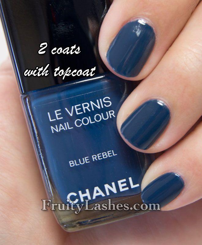 Blue Rebel - Chanel - looks like blue jeans