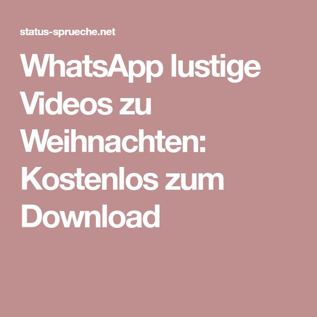 Whatsapp Lustige Videos Zu Weihnachten Kostenlos Zum Download Lustige Videos Fur Whatsapp Lustige Videos Whatsapp Lustig