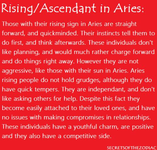 aries rising ascendant compatibility