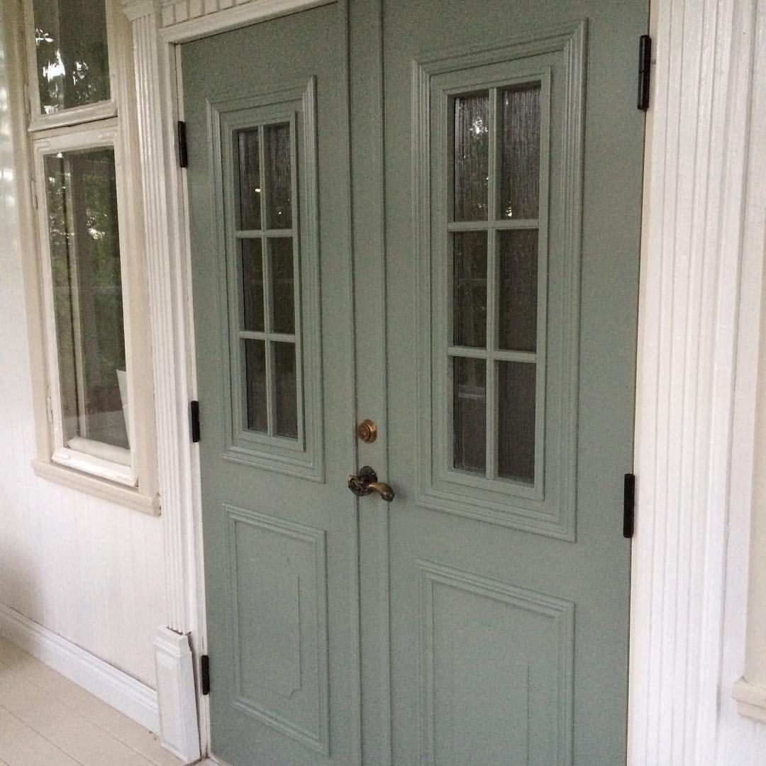 Inredning nordan dörr : NCS S 4005 G50Y | Färg fasad | Pinterest | Front doors and Doors