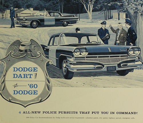 1960 dodge dart police car dodge cars cars rh pinterest com