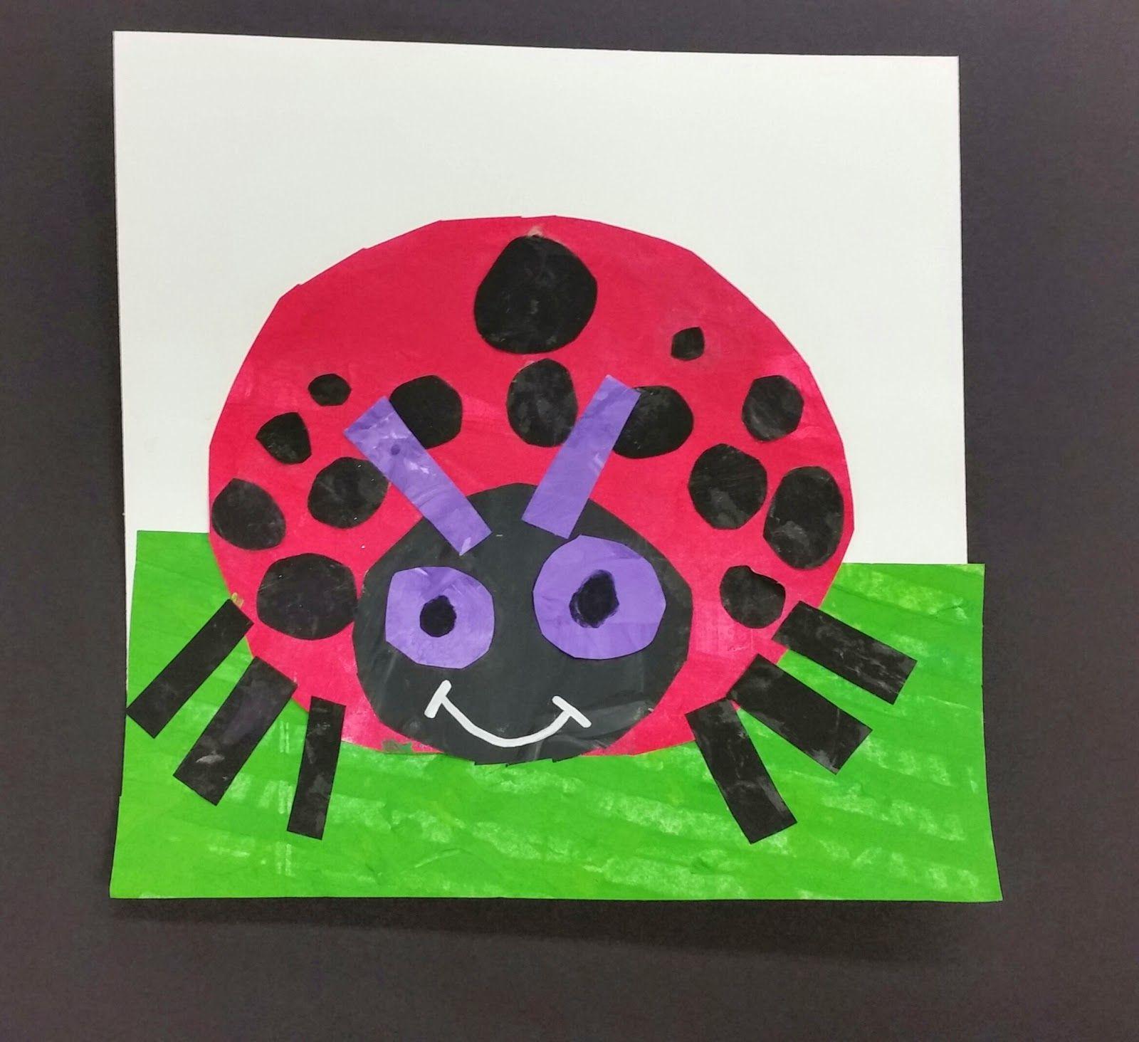 Mrs Allen S Art Room The Grouchy Ladybug