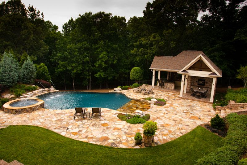 Outdoor Living Space Design Raleigh Nc Hardscape Construction