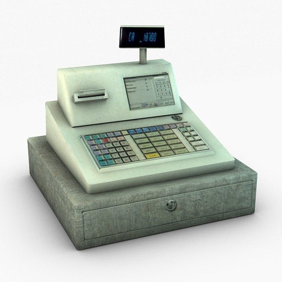 Cash Register, Social Media Design