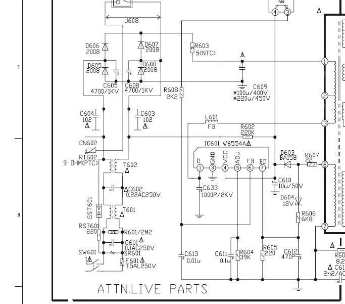 Solucionado regulador STR W6554A YoReparo (con imágenes