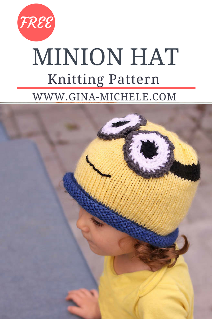 Minion Hat Free Knitting Pattern- perfect for Halloween | Minion ...