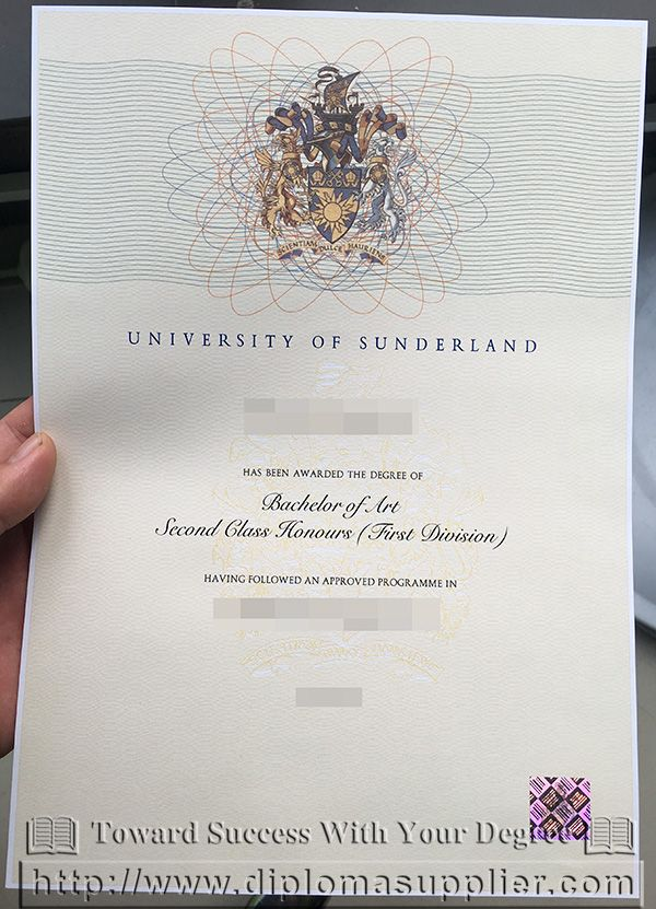 University Of Sunderland Fake Degree Certificatehow To Get It