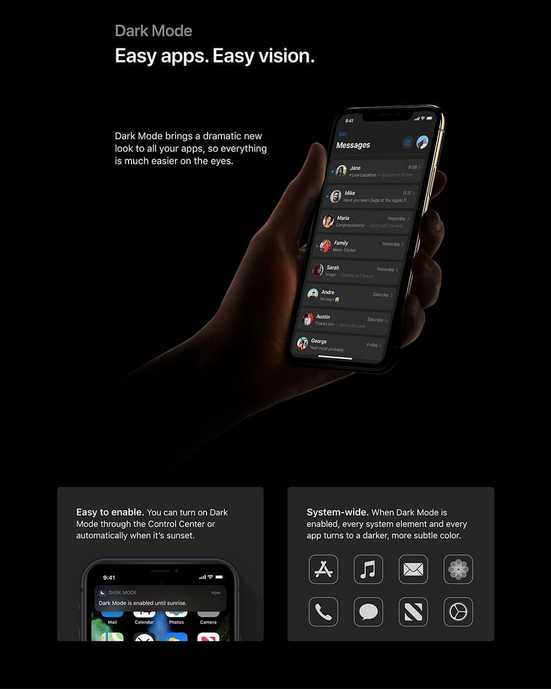 How To Get Dark Mode On Iphone 8 Plus