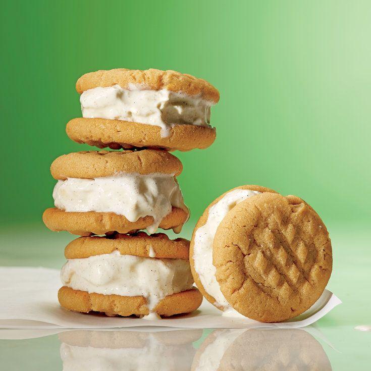 Peanut Butter-Banana Ice Cream Bites - 5 Ways to Use Vanilla Ice Cream - Coastal Living