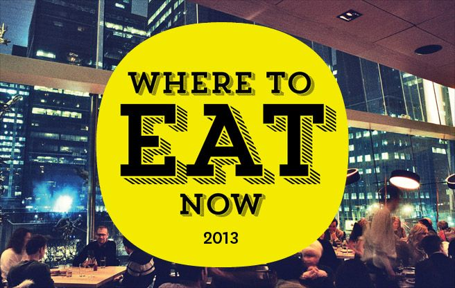 Where to eat - 2013