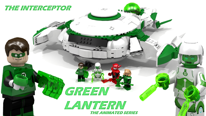 Green Lantern Interceptor The Animated Series Green Lantern The Animated Series Green Lantern Animation