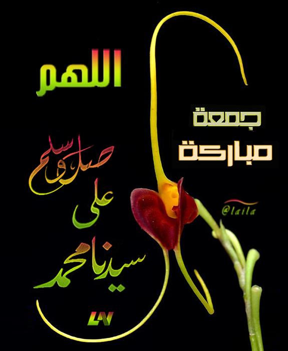اللهم صل على سيدنا محمد جمعة مباركة My Design Poster Photoshop