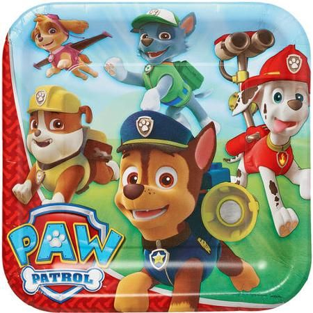 2018search Volume Jun 2018trendcpc Usdcompetition PAW Patrol 9 Square Plate 8 Count Party Supplies