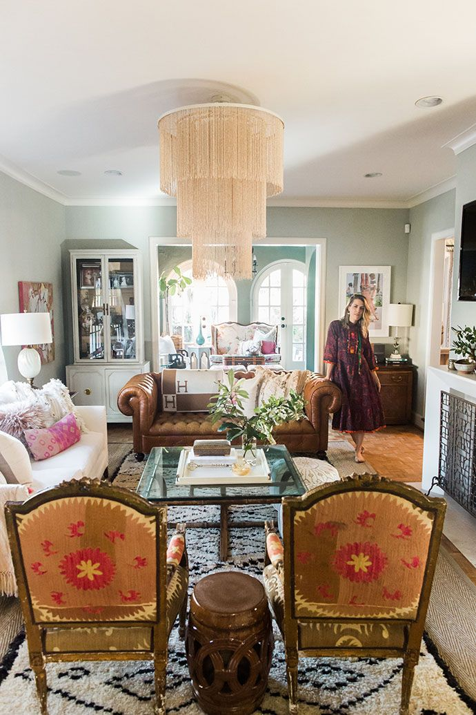 Brittany Cobb S Bohemian Texas Chic Home Bohemian Living Room