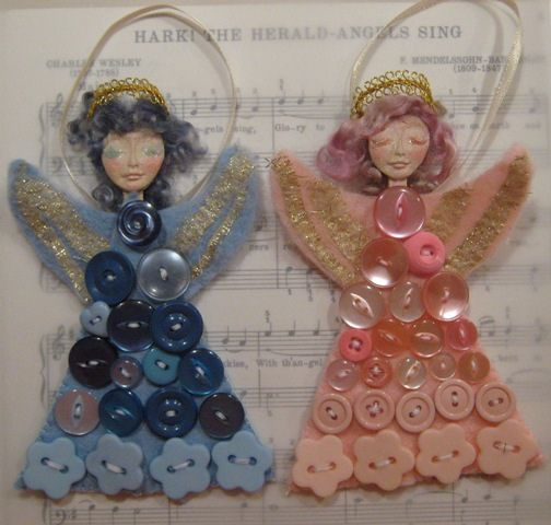 Button angels angel craft sale and sale items for Craft buttons for sale
