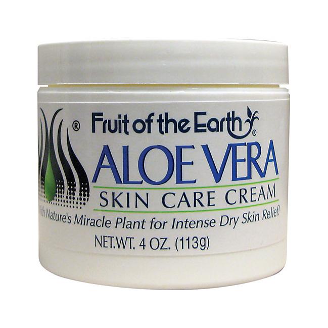 Fruit Of The Earth Aloe Vera Skin Care Cream 4 Oz Cream Swanson Health Products In 2020 Aloe Vera Skin Care Skin Care Cream Skin Care