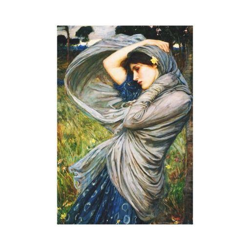 Waterhouse Boreas Canvas Print