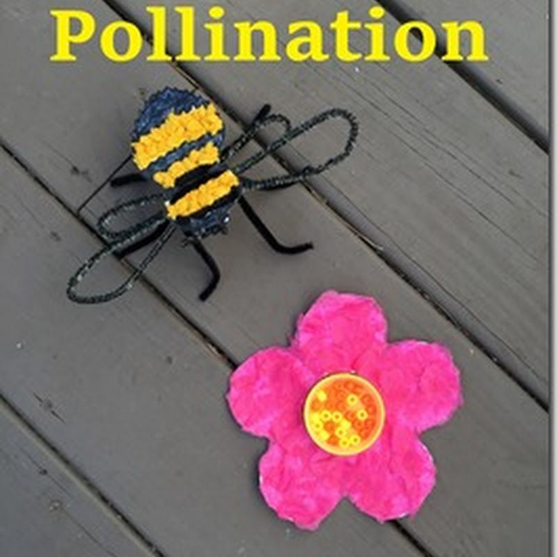 Bee Pollination Craft Tivity