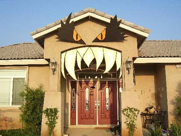 Te mostramos algunas idea de decoraci n para halloween - Decoracion casa halloween ...