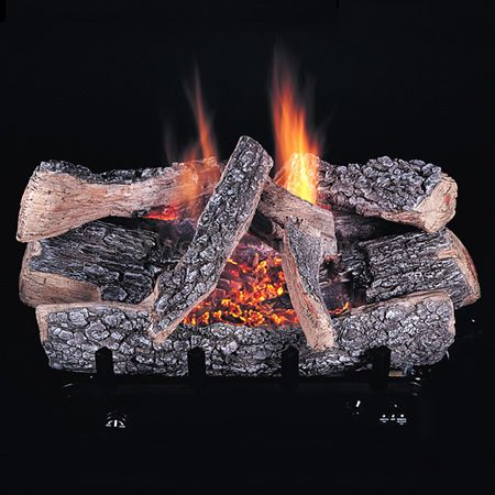 Rasmussen Chillbuster C5 Evening Embers Ventless Gas Log Set