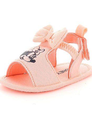 2bd83b0388386 Sandales en textile 'Minnie' corail Bébé fille - Kiabi | Le dressing ...