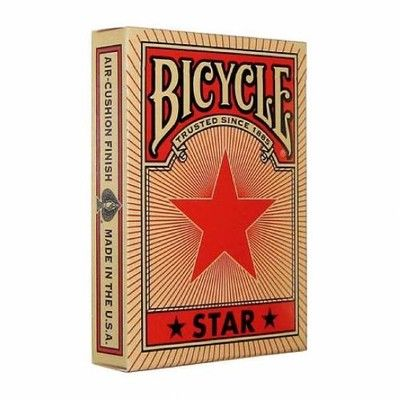 Bicycle Red Star Karty Do Sztuczek 6171487171 Oficjalne Archiwum Allegro