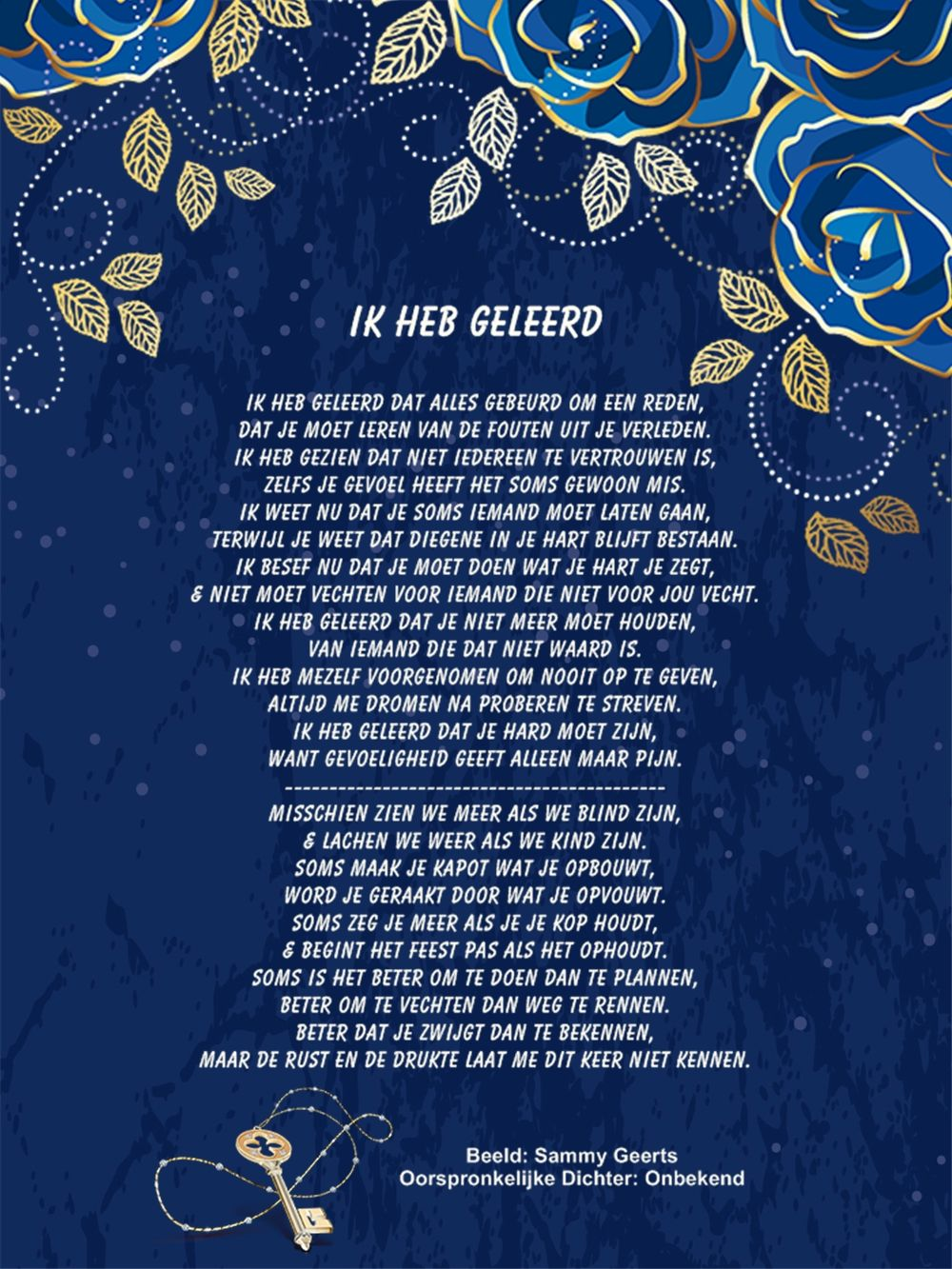 Citaten Uit Gedichten : Ik heb geleerd spreuken gedichten gezegden en citaten