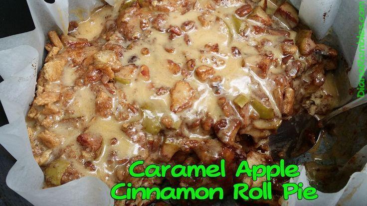 Caramel Apple Cinnamon Roll Monkey Bread   - Camping Ideas -  - #Apple #bread #Camping #Caramel #Cinnamon #ideas #Monkey #roll #cinnamonrollpokecake