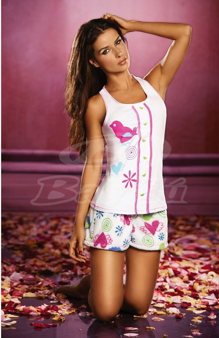 $36000 - Pijama Short Amore  | Moda Femenina Colombiana - http://tiendaonline.modafemenina.com.co/products/pijama-short-amore-8/