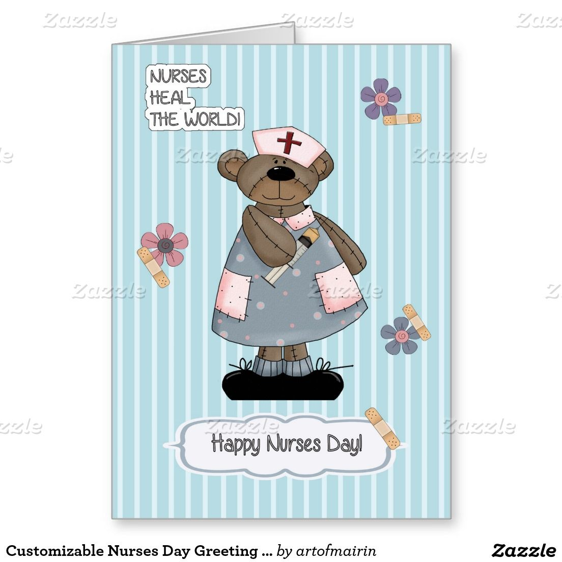 Customizable Nurses Day Greeting Card in 2020