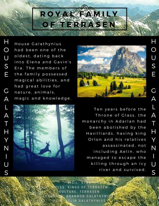 Royal Family of Terrasen