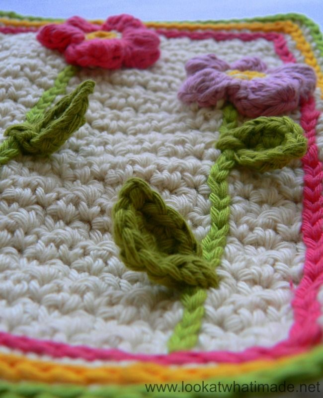 Tutorial de flores Cluster Lookatwhatimade Love This Little Leaf and ...