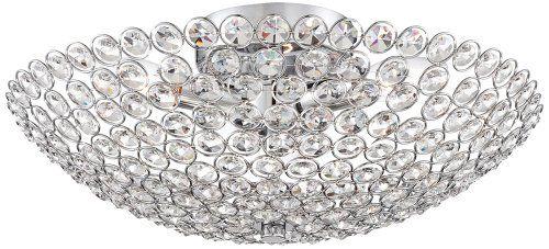 "Possini Euro Design Geneva 16"" Wide Crystal Ceiling Light Possini Euro Design http://www.amazon.com/dp/B00BIIRW5O/ref=cm_sw_r_pi_dp_7rkewb0QXNTZJ"