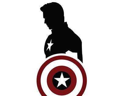 45+ Captain America Shield Clipart Black And White