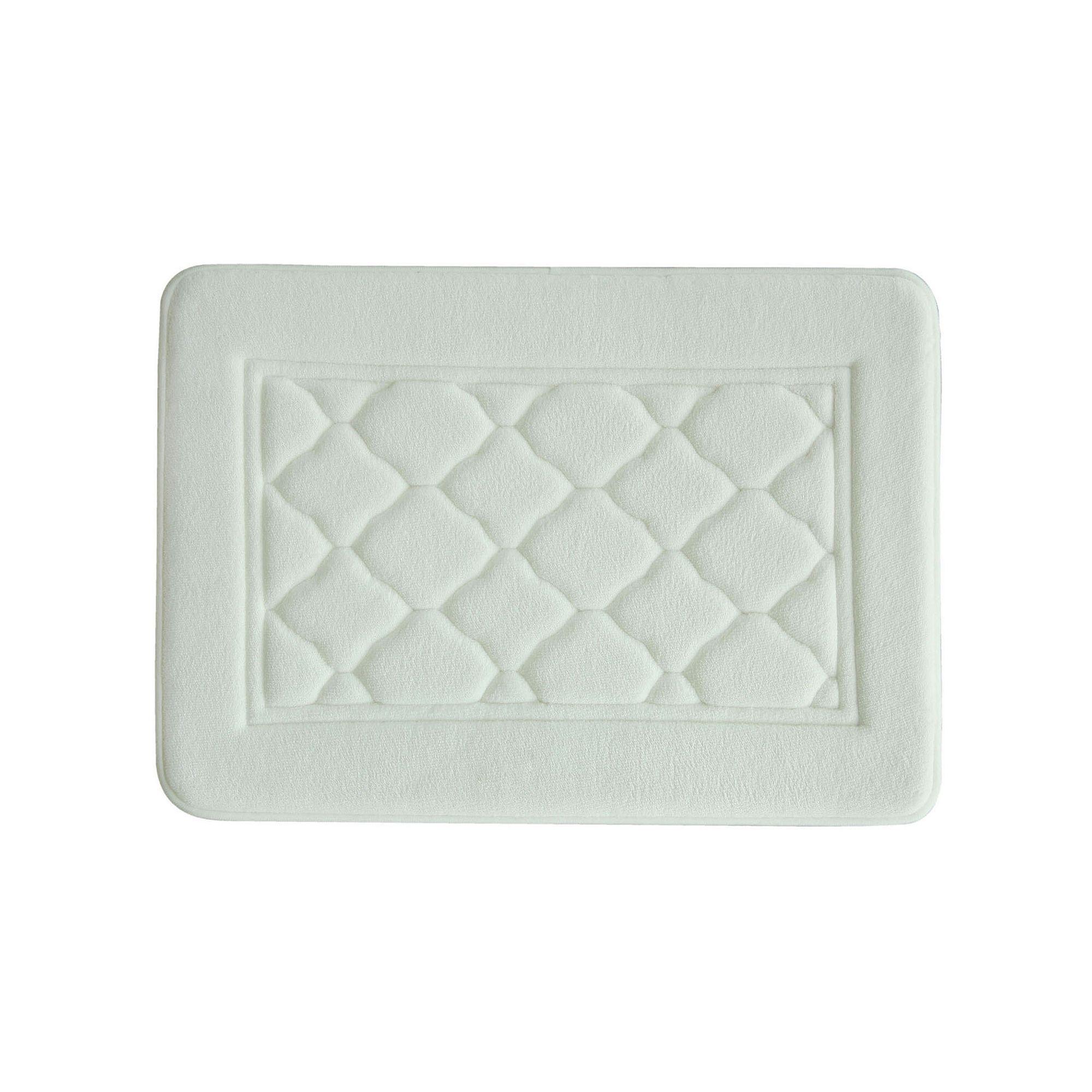 Bacova Florence Microban Antimicrobial Memory Foam Bath Rug