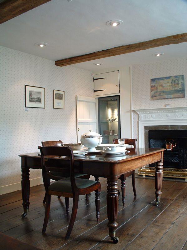Regency Era Drawing Room: Jane Austen House At Chawton