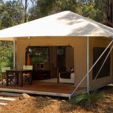 Luxury Eco Tents with high return on investment. Perfect for resorts mining c&s or private accommodation. & Eco Structures Australia | camp cabins | Pinterest