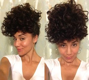 The Pineapple Method For Curly Hair How To Sleep With Curly Hair Curl On A Mission Pineapple Curly Hair Styles Naturally Curly Hair Tips Curly Hair Styles