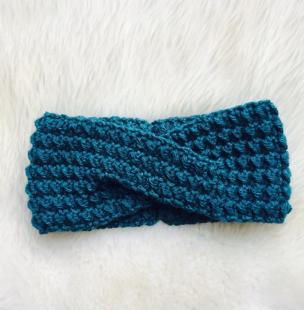 Lola Headwrap ** Pattern   Patterns, Crochet and Crocheted headbands