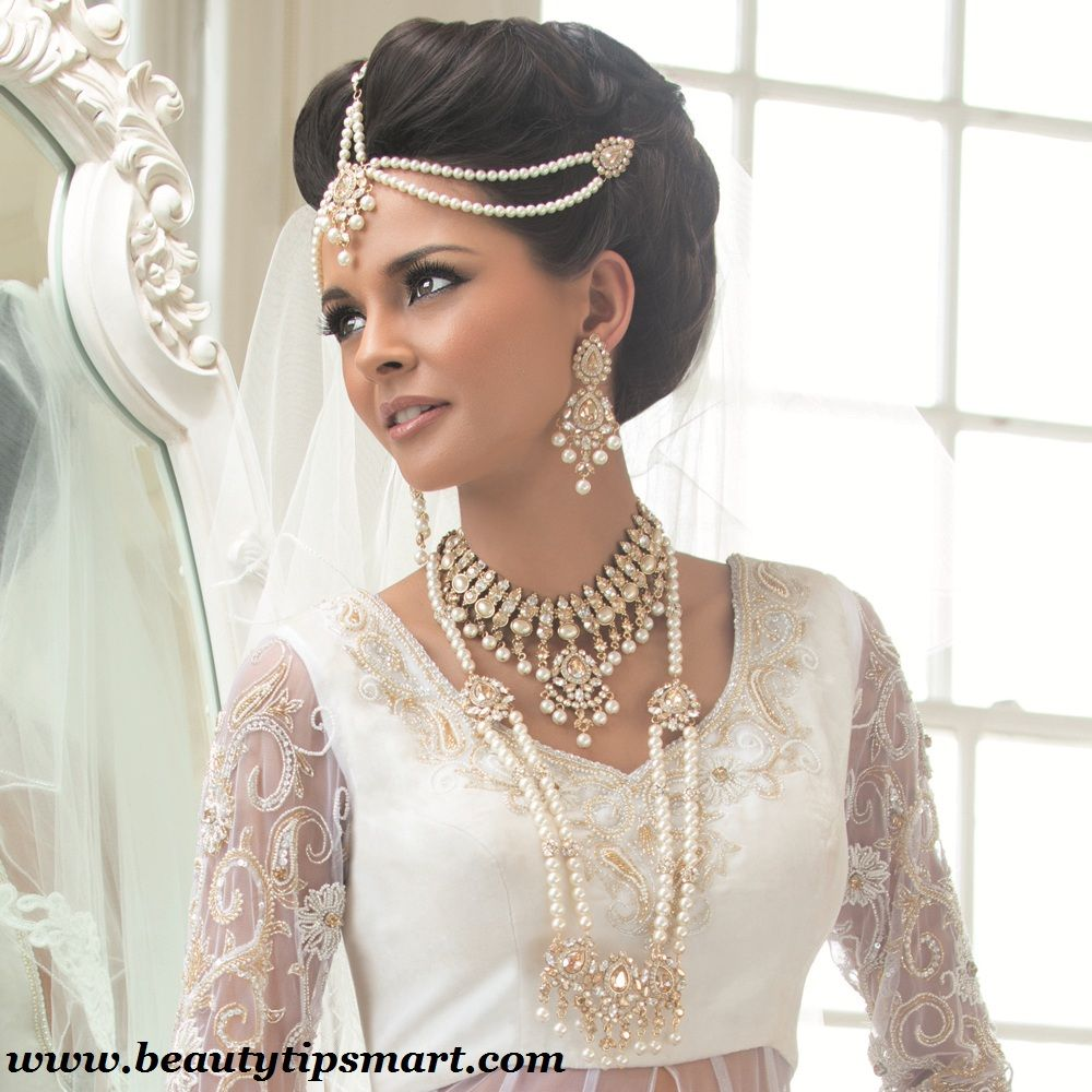 Bridal Jewelry Indian Wedding: Pearl Wedding Jewelry Sets For Indian Brides 2015 Designs
